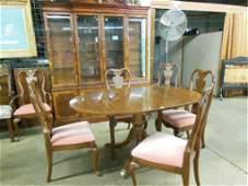 Heckman 8 Piece QA Style Dining Room Set