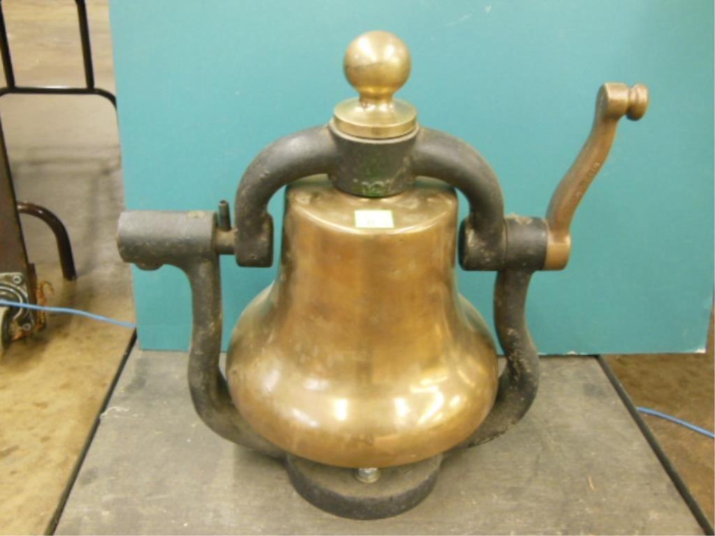 Rail Road Steam Engine Brass Bell