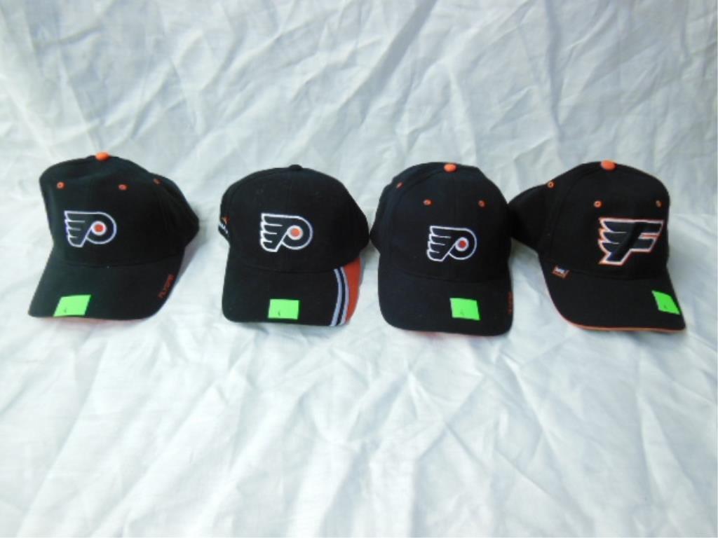 4 Philadelphia Flyers Hats