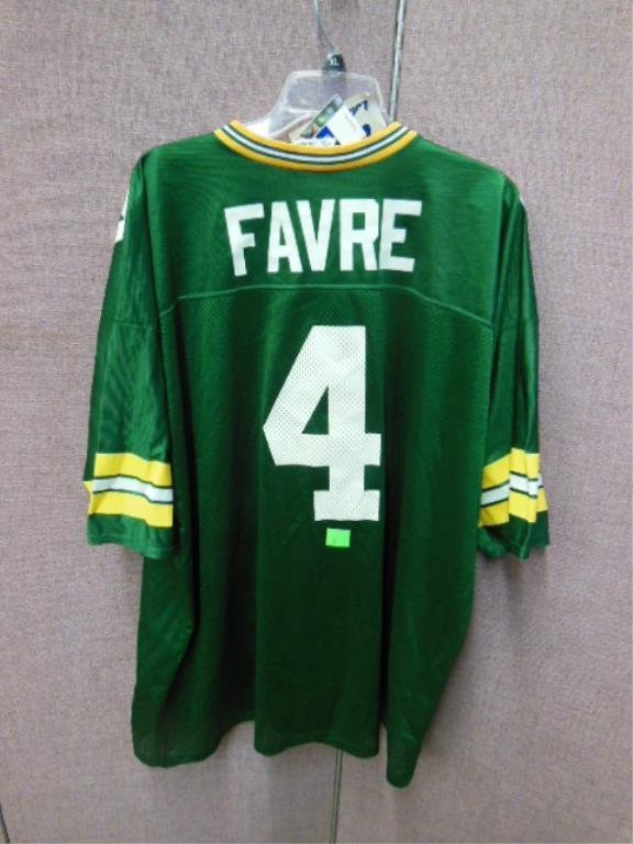 Brett Favre #4 Green Bay Jersey