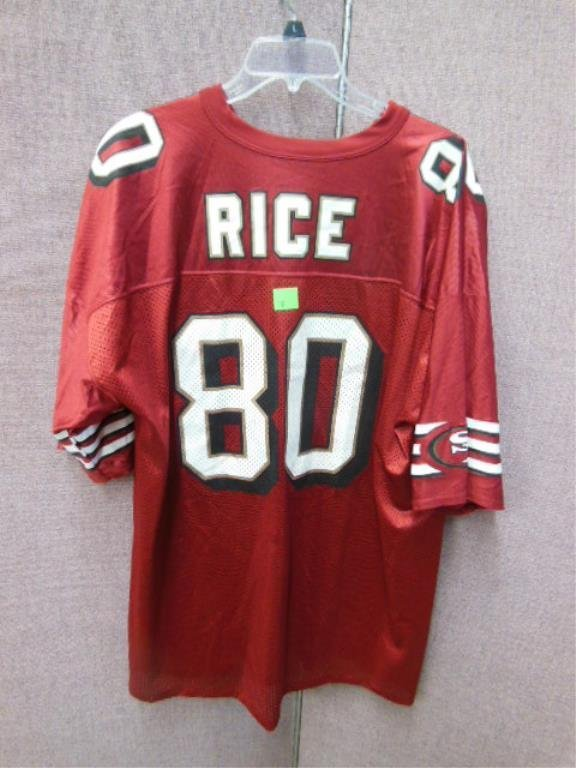 Jerry Rice #80 SF Forty-Niners Jersey