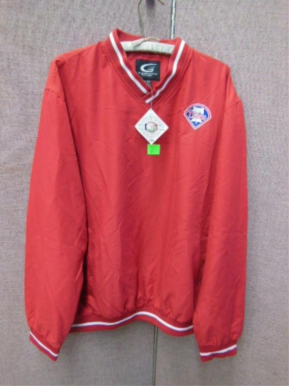 Phillies Warm Up Jacket