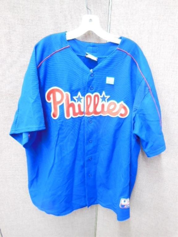Blue Philadelphia Phillies Blank Jersey