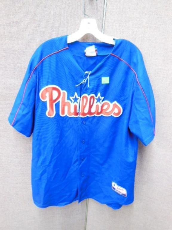 Blue Phillies Blank Jersey