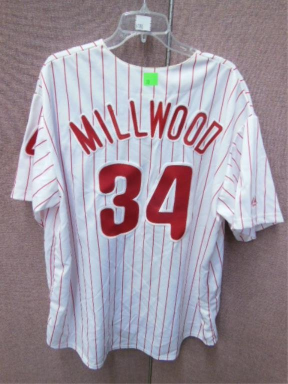 Kevin Millwood #34 Pinstripe Phillies Jersey