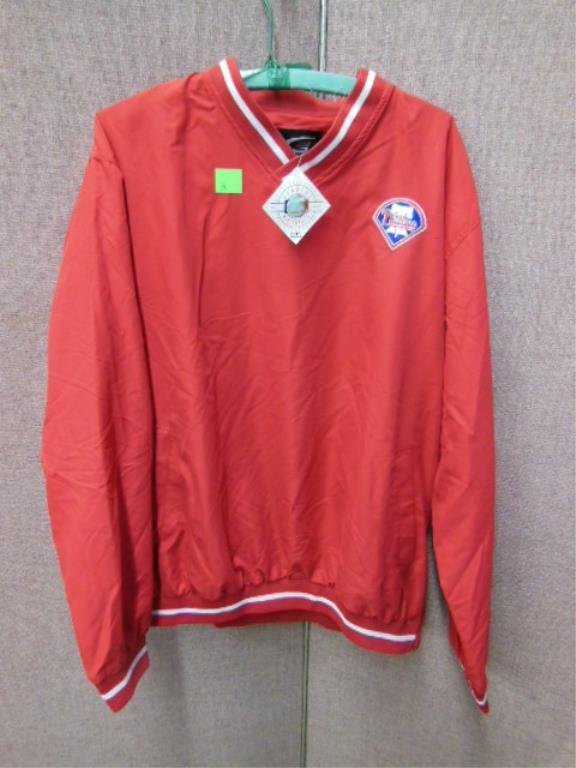Official Phillies Warm Up Jacket