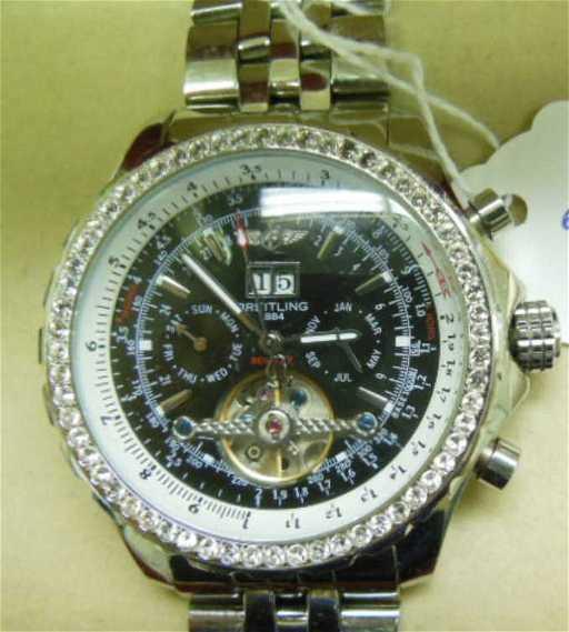 chronograph mark breitling automatic vi watch men price mens dial bentley bronze s