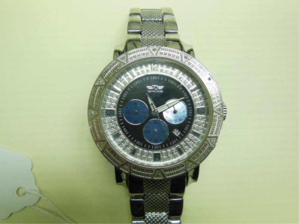 Techno Diezel Gents Wrist Watch, Chronograph - 2