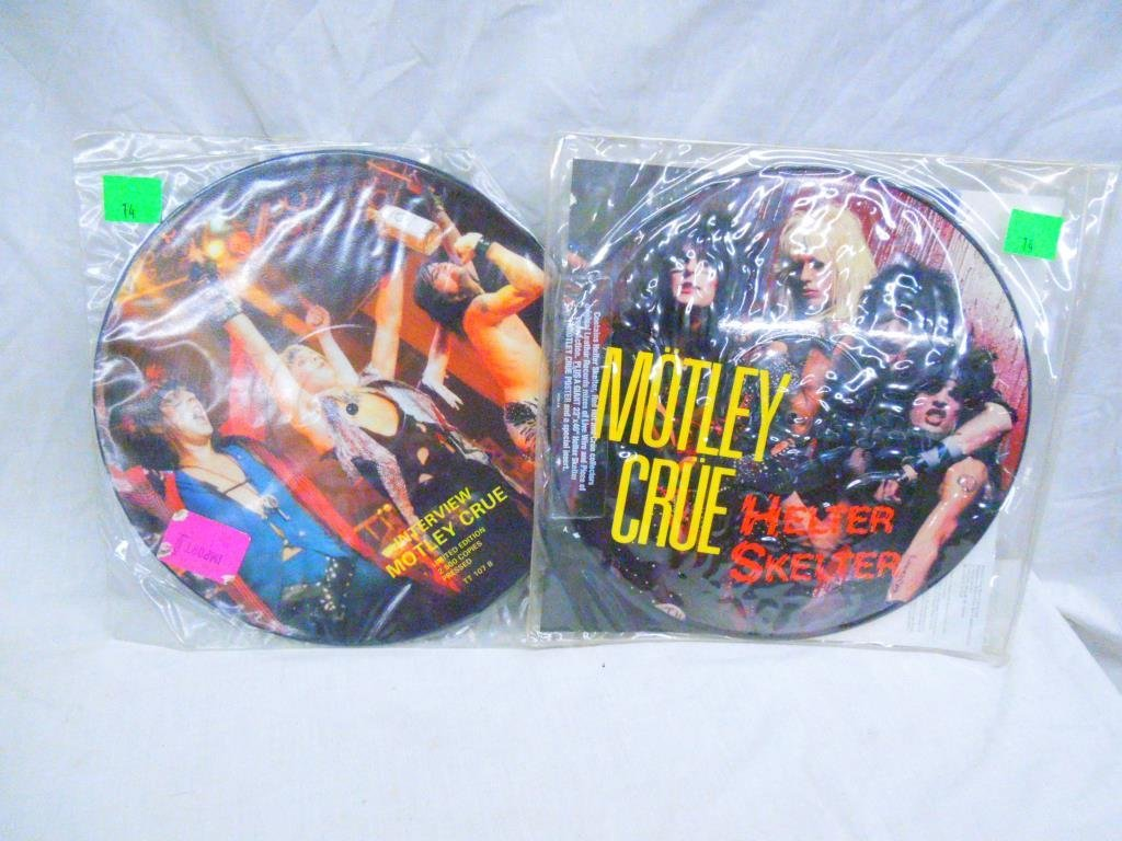 Motley Crue Collectors Records