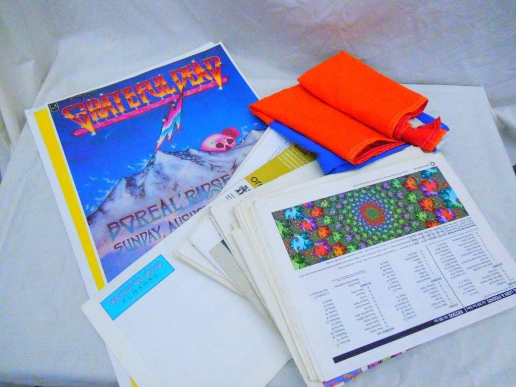 Grateful Dead Posters, Flag, Almanacs