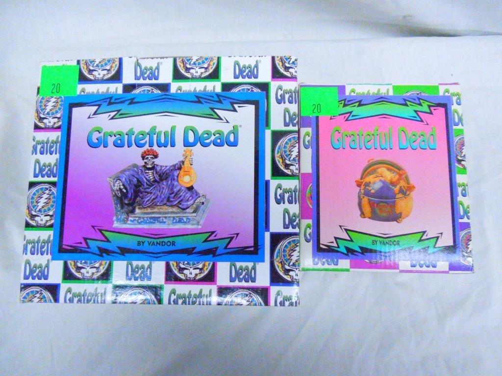 Grateful Dead Figure & Trinket Jar By Vandor