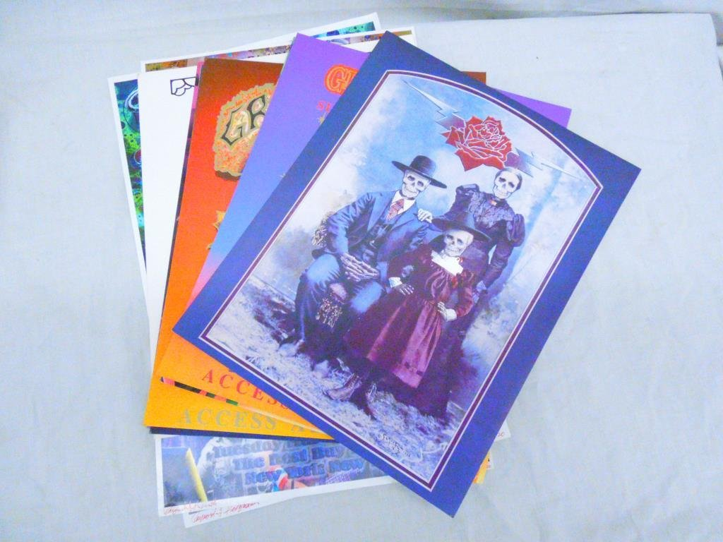 Lot of Grateful Dead Display Cards & Posters