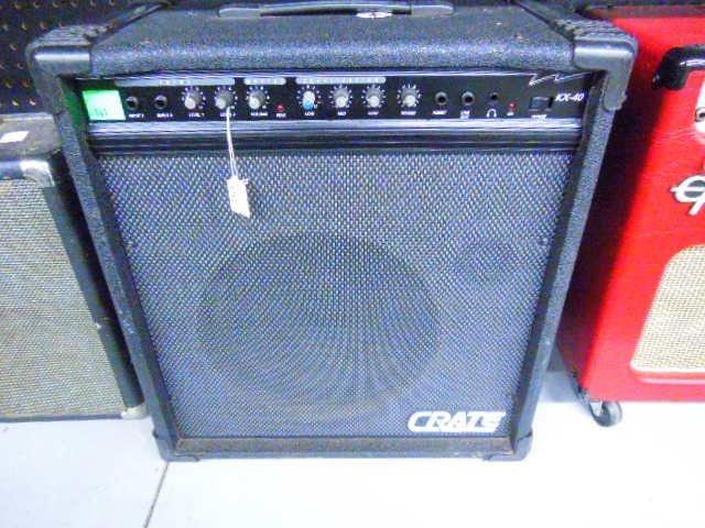 kx 40 100 watt bass amplifier