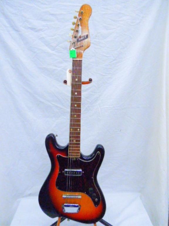 Heit Deluxe Electric Guitar, No case.