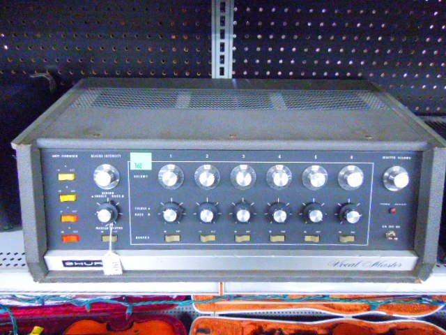 Shure Vocal Master VA-300C Control Console