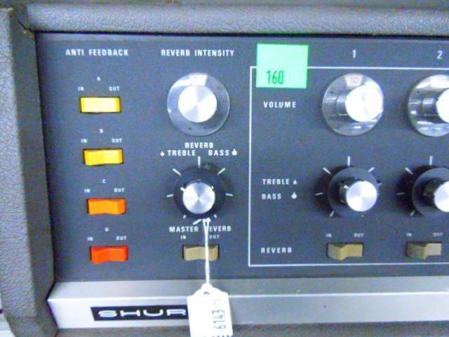Shure Vocal Master VA-300C Control Console - 2