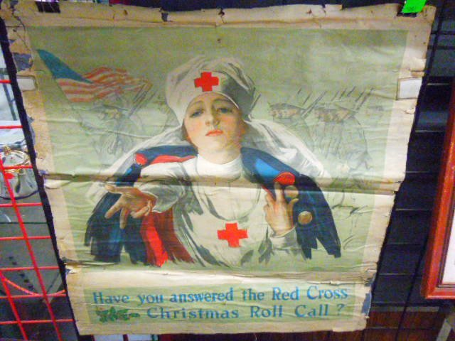Fisher Red Cross Poster; WWI
