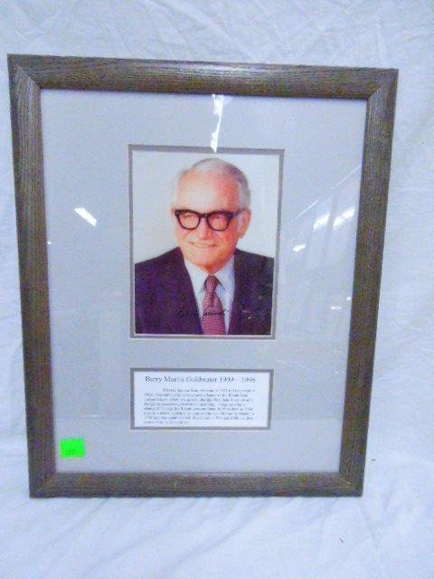 Signed Photo Barry Goldwater