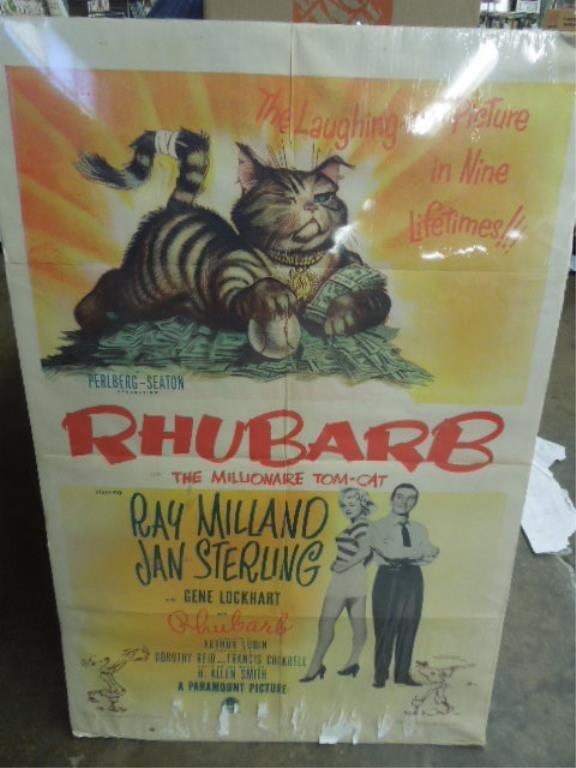 "Movie Poster ""Rhubarb"""
