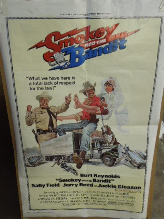 """Movie Poster """"Smokey and the Bandit"""""""
