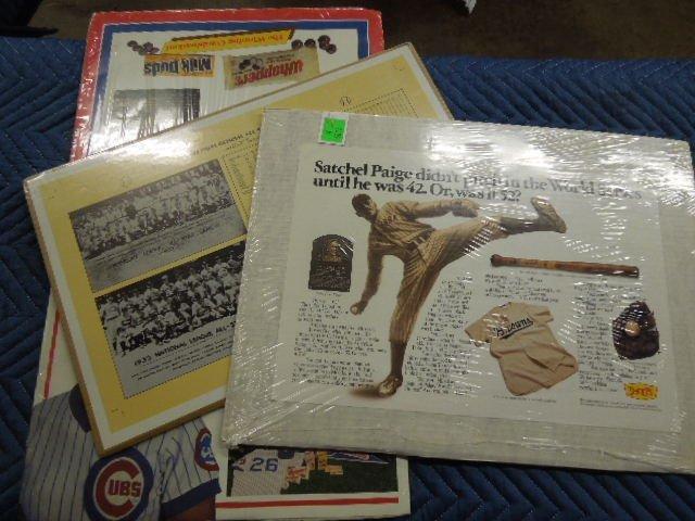 3 Baseball Posters