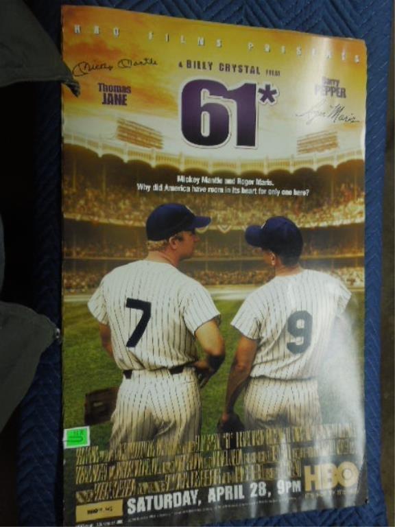 "2 Movie Poster on Cardboard ""61*"""