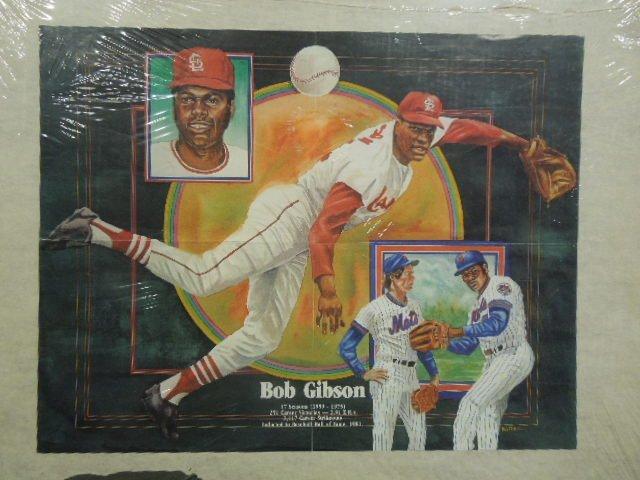 Bob Gibson Poster 17 seasons