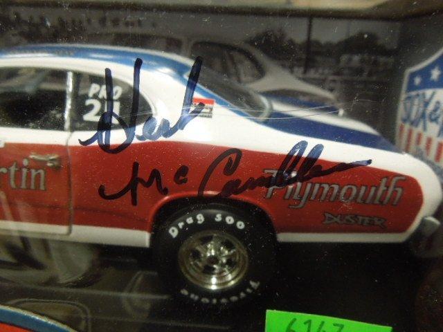 Die Cast Race Car Sox - Martin Plymouth Duster - 2