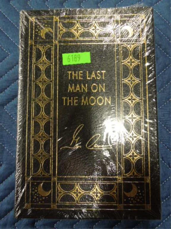 Book - The Last Man on the Moon, (Signed)