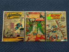3 DC Comics Action  Adventure