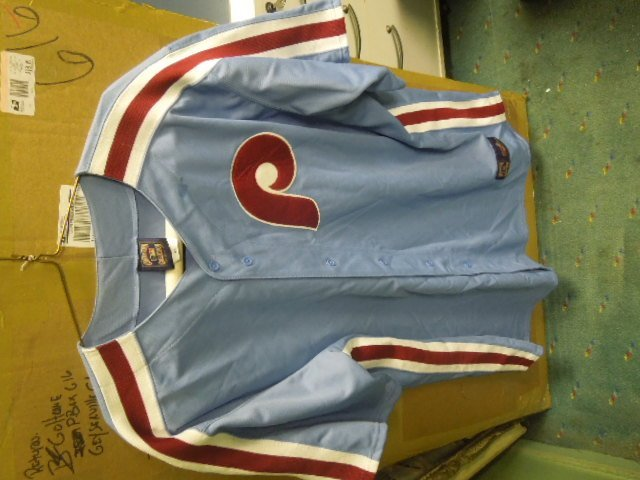 Phillies Jersey 80's Style Majestic