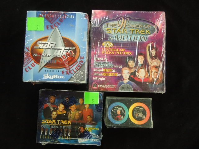 Star Trek Collectible Cards