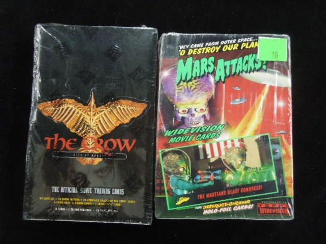 2 Boxes Movie Trading Cards