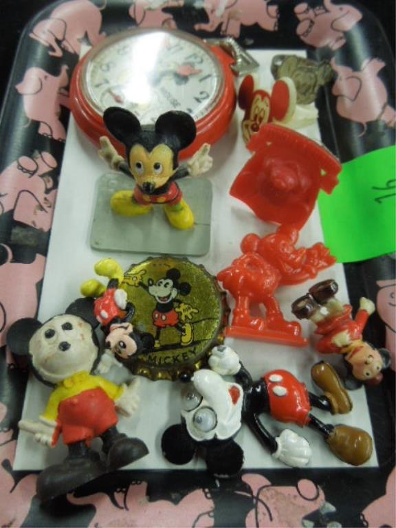 1 Lot Mickey Mouse Collectibles