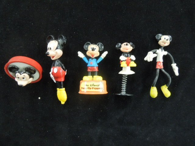 Lot of 5 Vintage Mickey Mouse Collectibles
