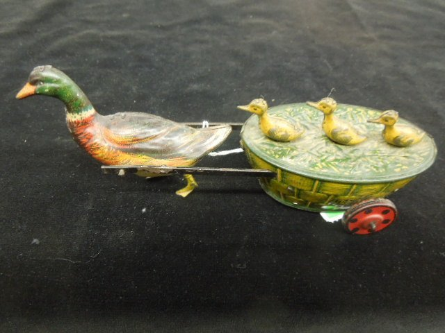 Vintage German Duck wind up Toy