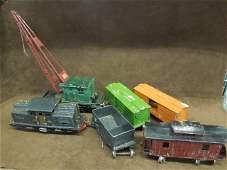Vintage Lionel Steel Train Set