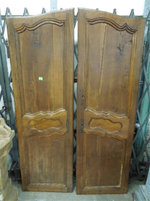 Pair Louis XV  Armoire Doors