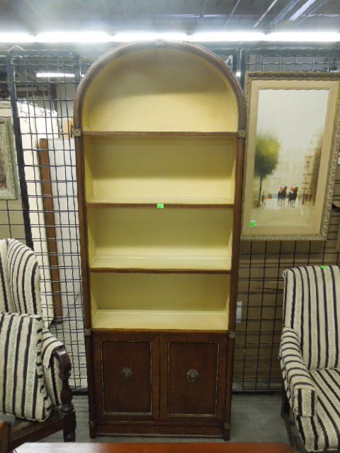 Henredon Arched Top Bookcase