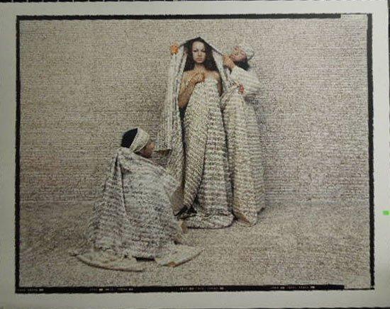 """Lalla Essaydi, """"Les Femmes du Maroc, #50"""", 2006"""