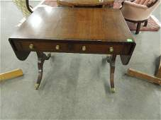 Duncan Phyfe Style Library Table
