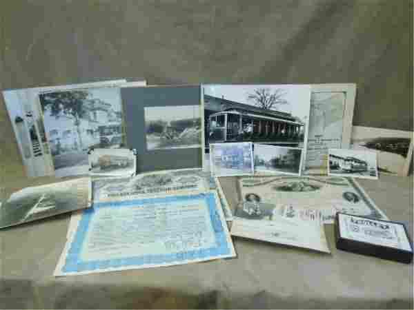 Vintage Street Railway and Interurban Ephemera