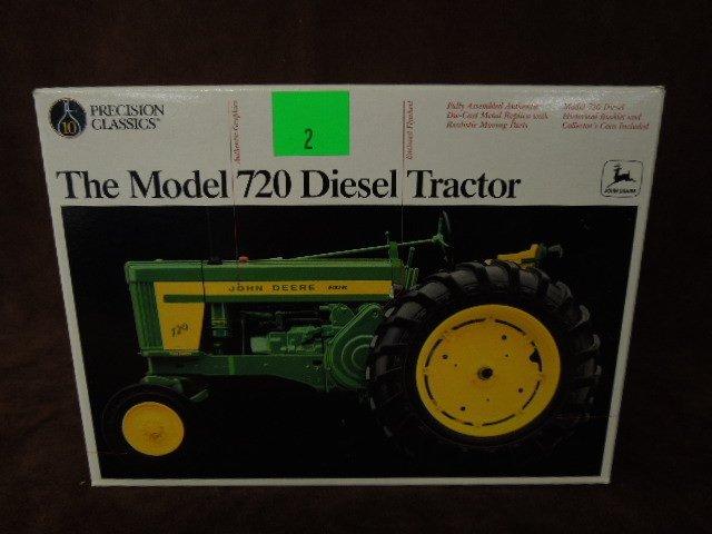 "John Deere Die Cast Tractor Model ""B"""