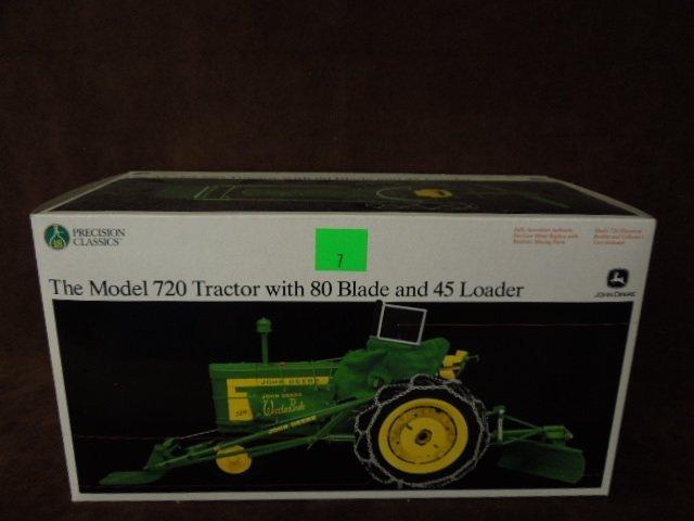 John Deere Die Cast Tractor