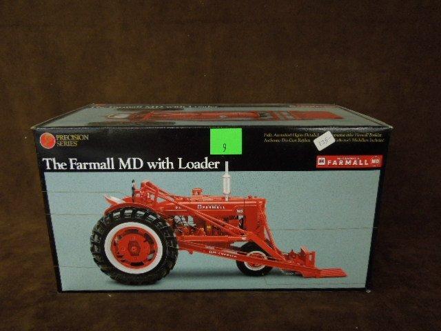 Farmall MD Tractor w/Loader