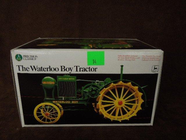 """John Deere """"Waterloo Boy"""" Die Cast Tractor"""