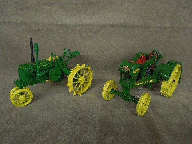 2 John Deere Die Cast Tractors by Ertl