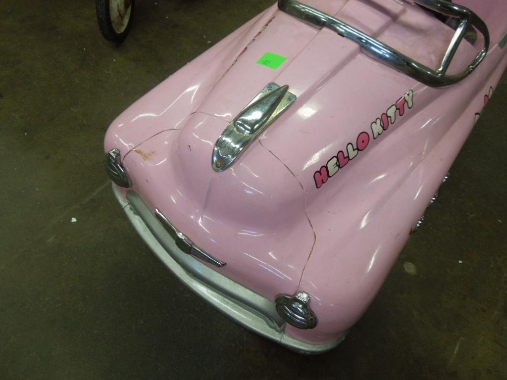 Vintage Hello Kitty Pedal Car - 3