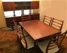 Danish Modern 8 pc dining room set