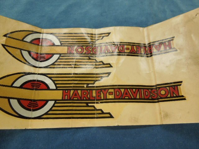 Set of 1936-1939 Harley Davidson Speedball